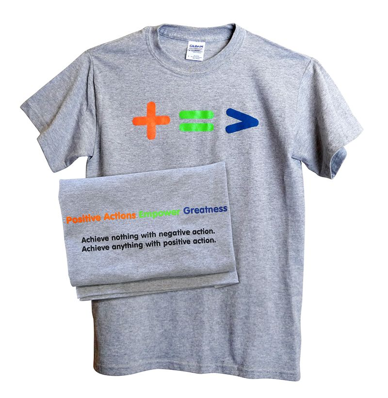 """""""Empower Greatness"""" T-Shirt for Students"""