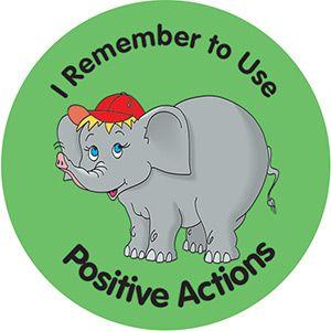 "Grade 2 ""Eric Elephant"" Stickers"