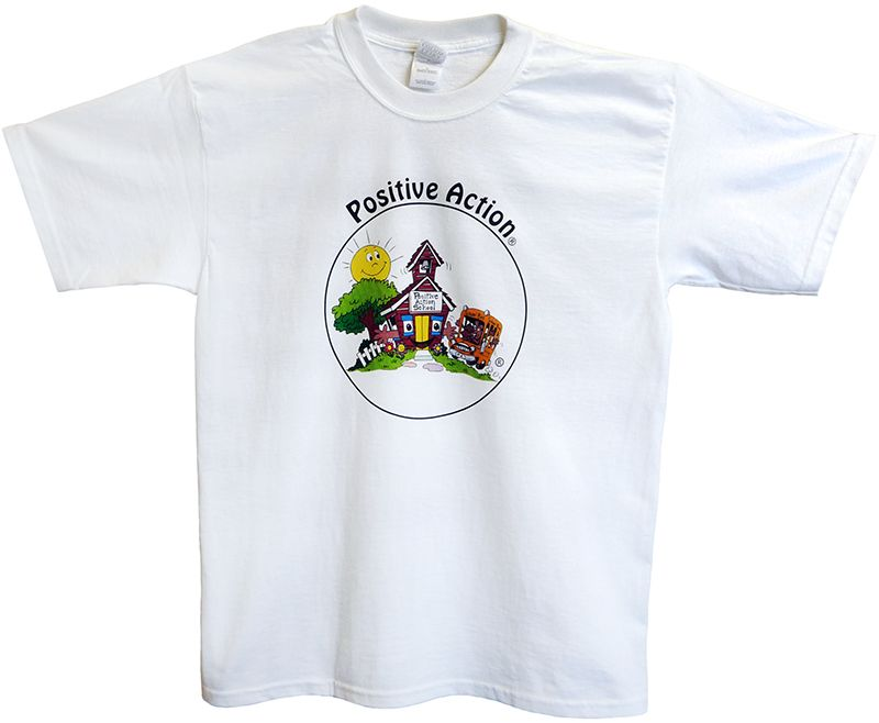 """Full Color """"Schoolhouse"""" T-Shirt for Adults"""