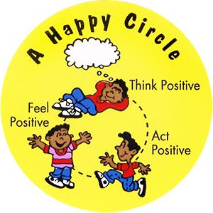 """A Happy Circle"" Stickers"