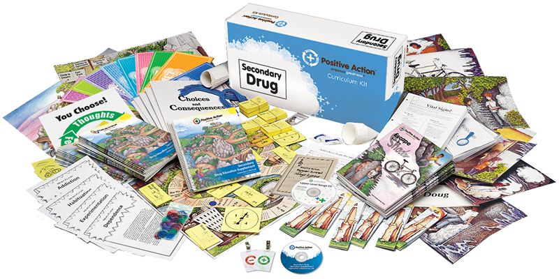 Secondary Drug Education Kit