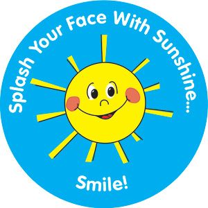 "Grade 1 ""Smile"" Stickers"