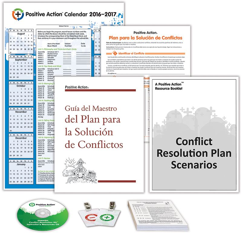 Spanish Conflict Resolution Kit